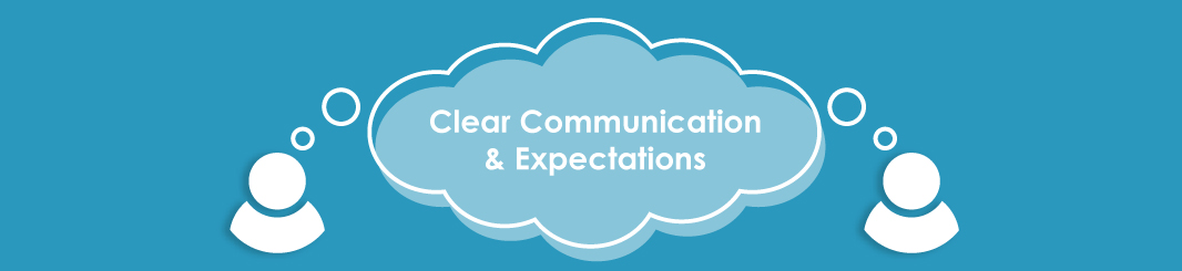 Clear communication with marketing agency